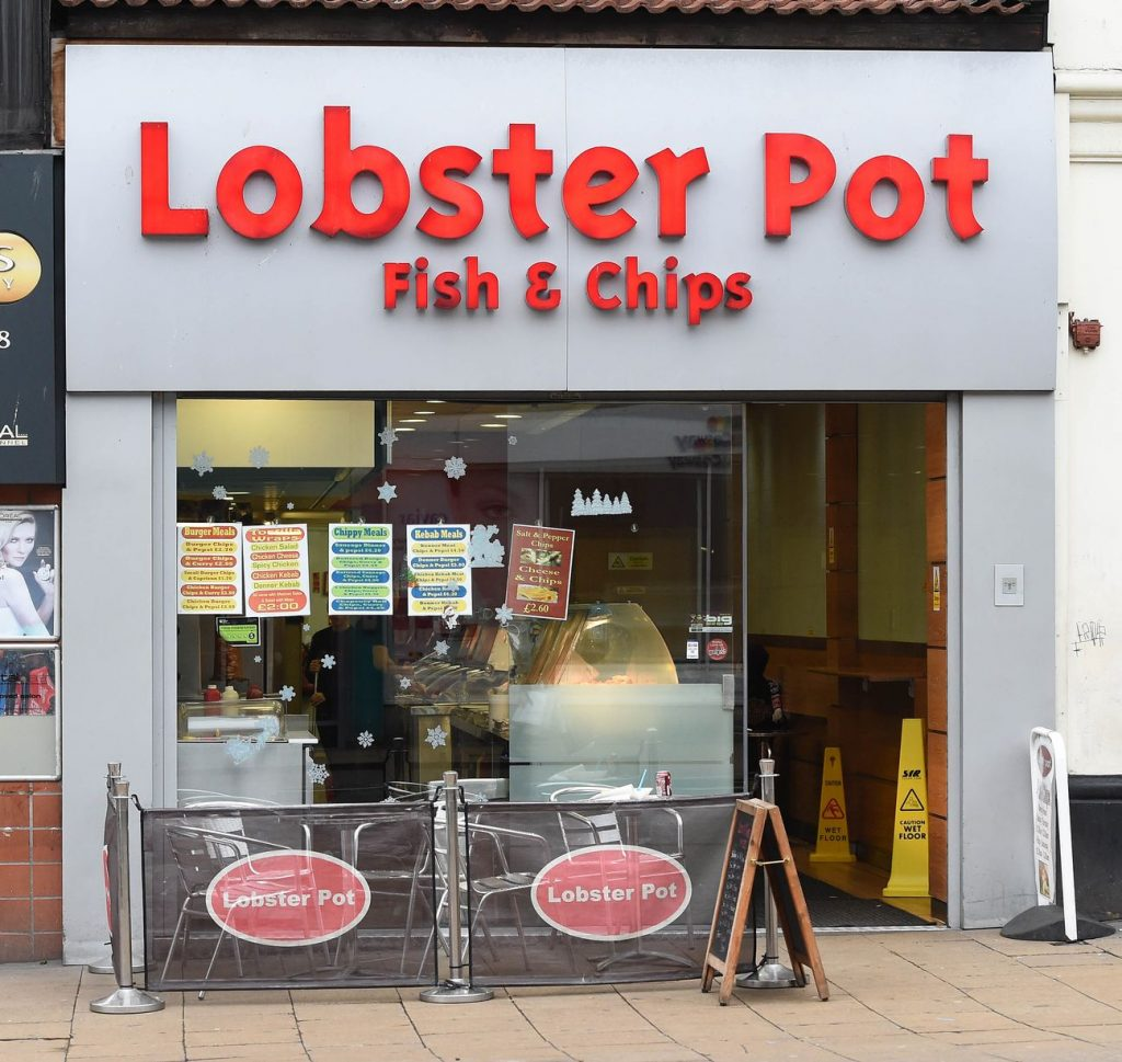 Il Lobster pot di Liverpool