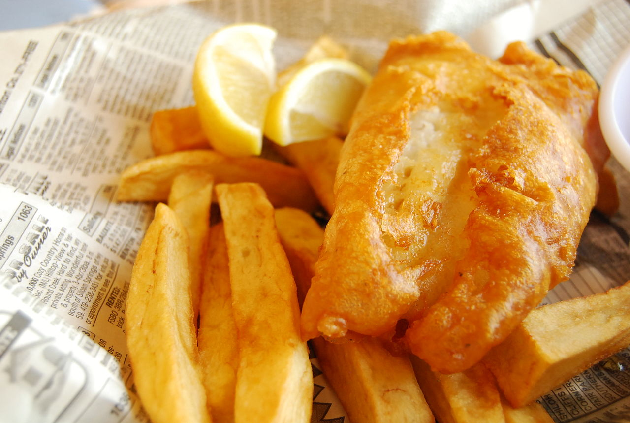 ricetta del fish and chips