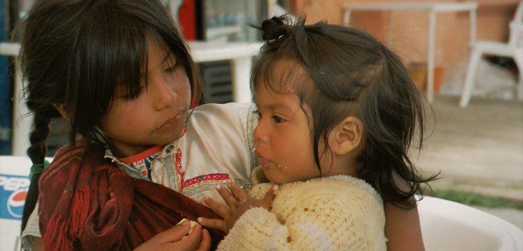 CHiapas: rosa y su hermana