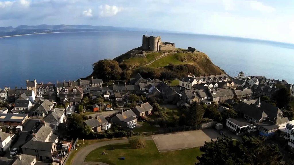 Galles: il Castello di Criccieth