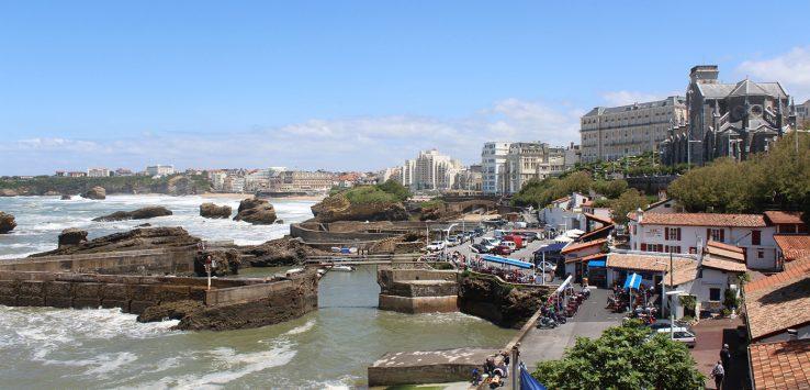 viaggio in francia biarritz