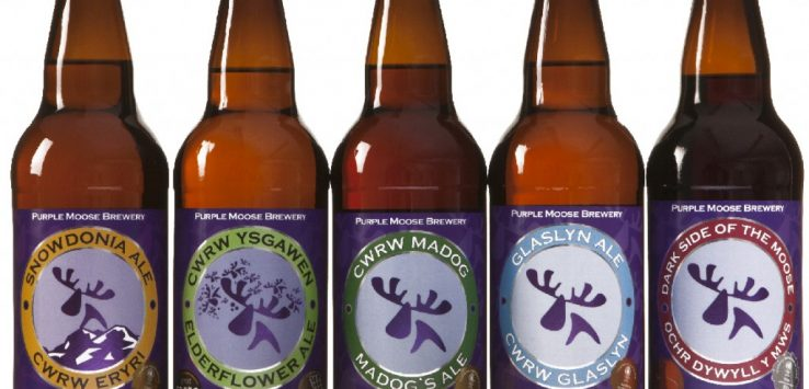 Galles: purple moose beer