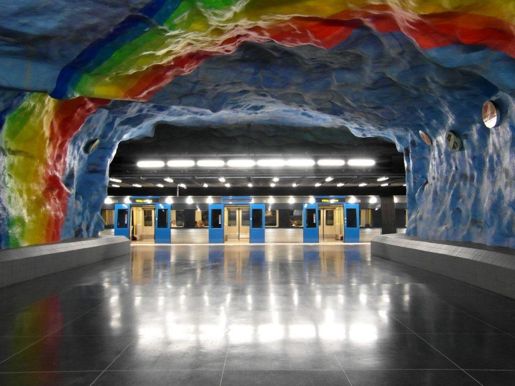 Viaggio a Stoccolma: la tunnelbana