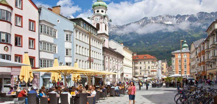 Innsbruck in estate
