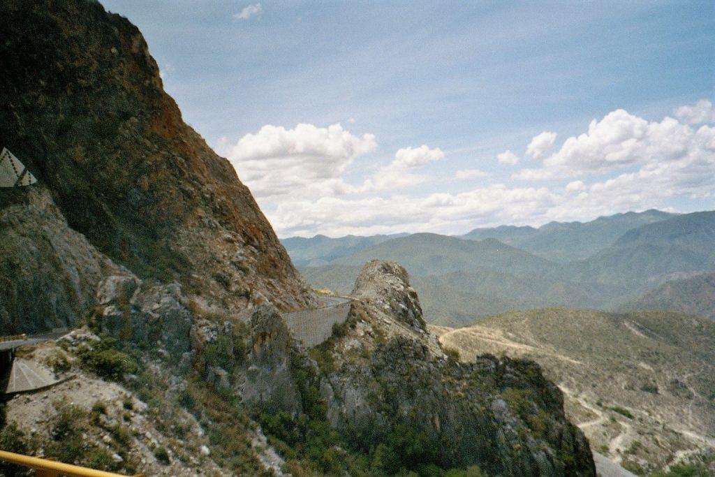 strada verso Oaxaca