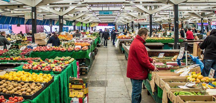 Il mercato di Leicester