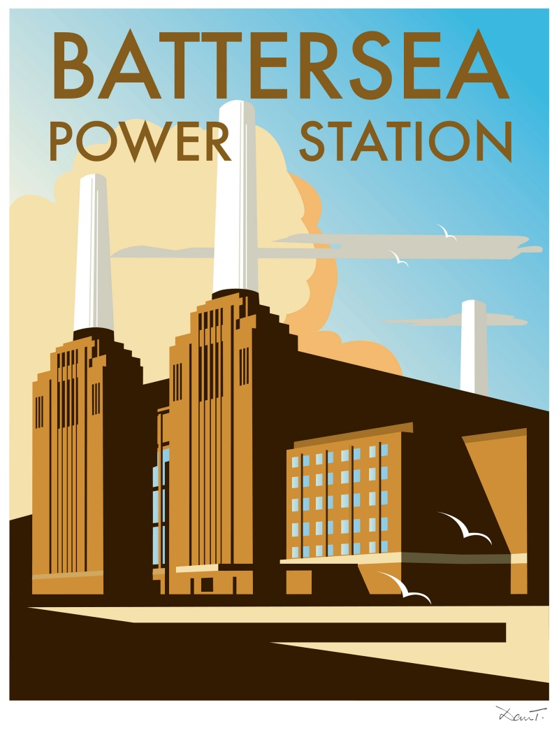 battersea power station vecchio manifesto
