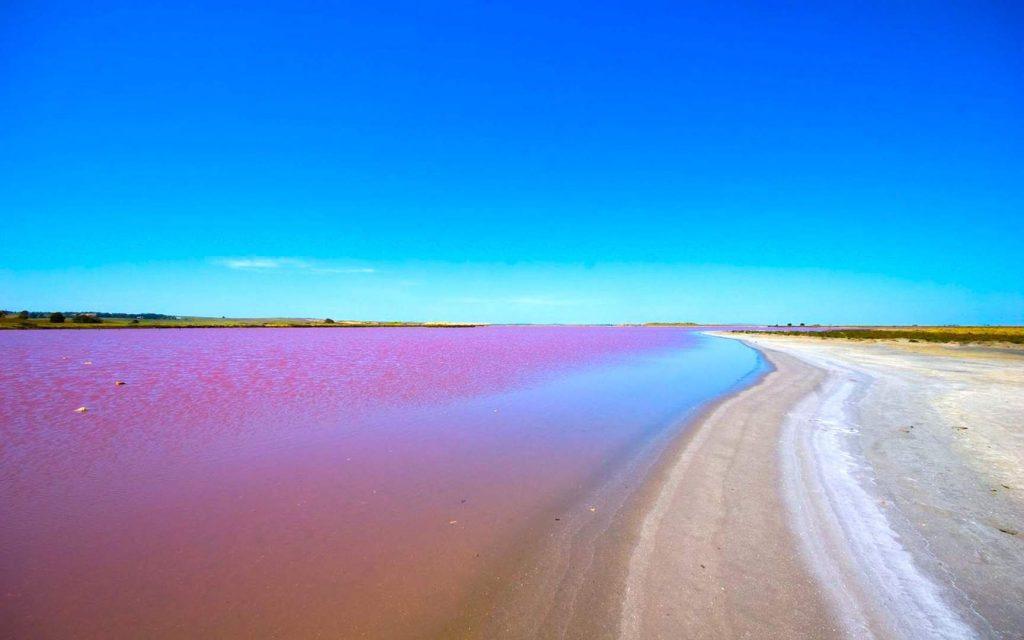 lago rosa senegal