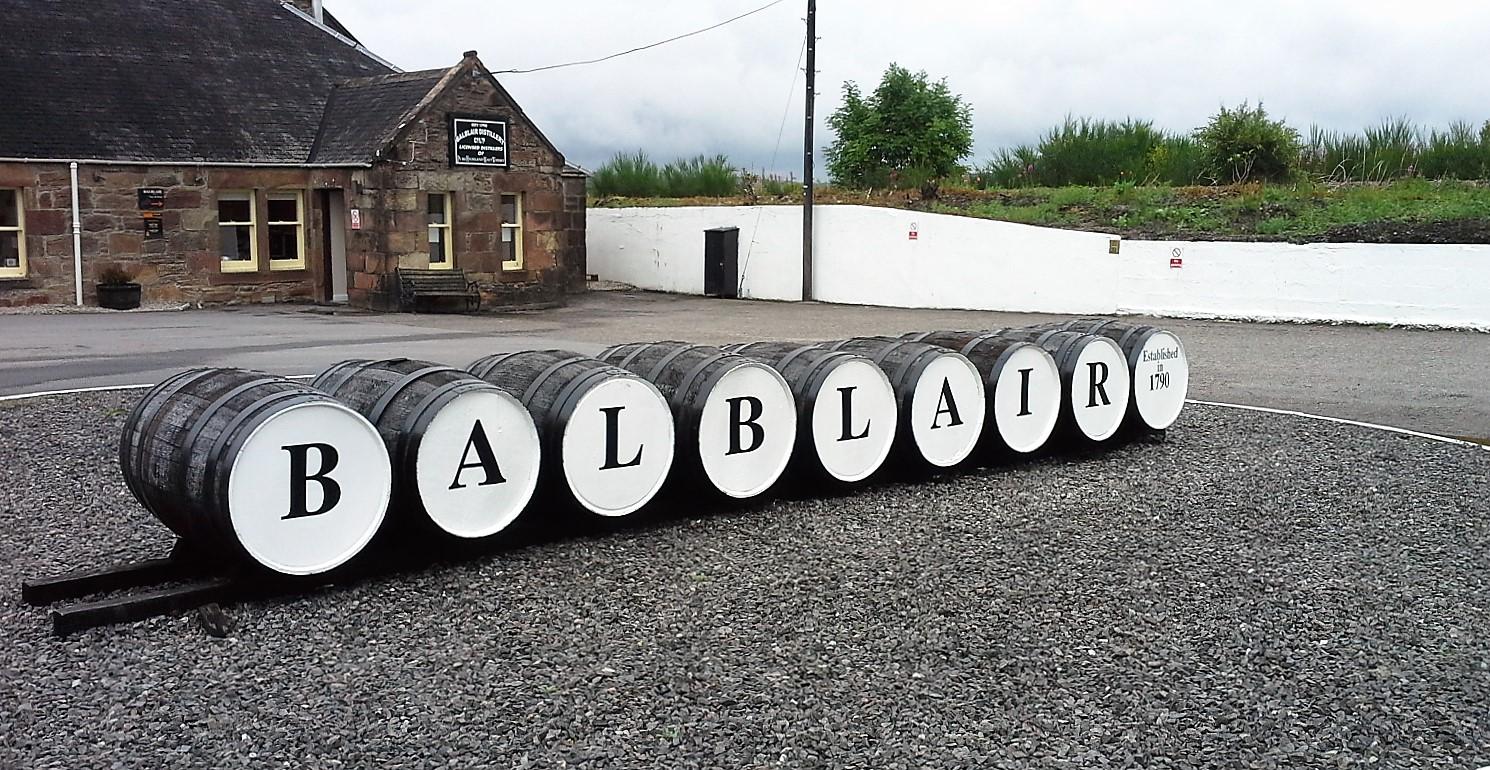 Come raggiungere la Balblair Distillery