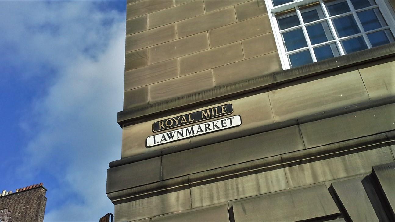 Edimburgo royal mile