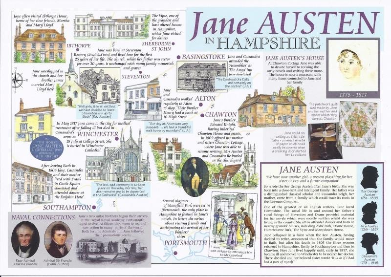 Luoghi di Jane Austen nell'Hampshire
