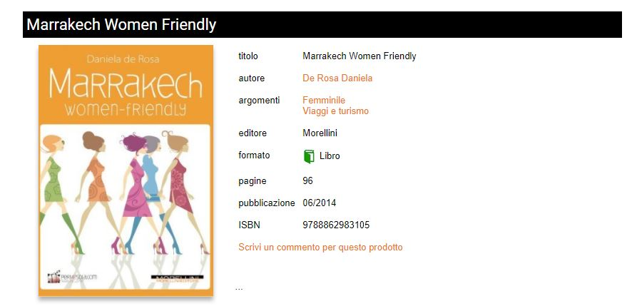 marrakech women friendly