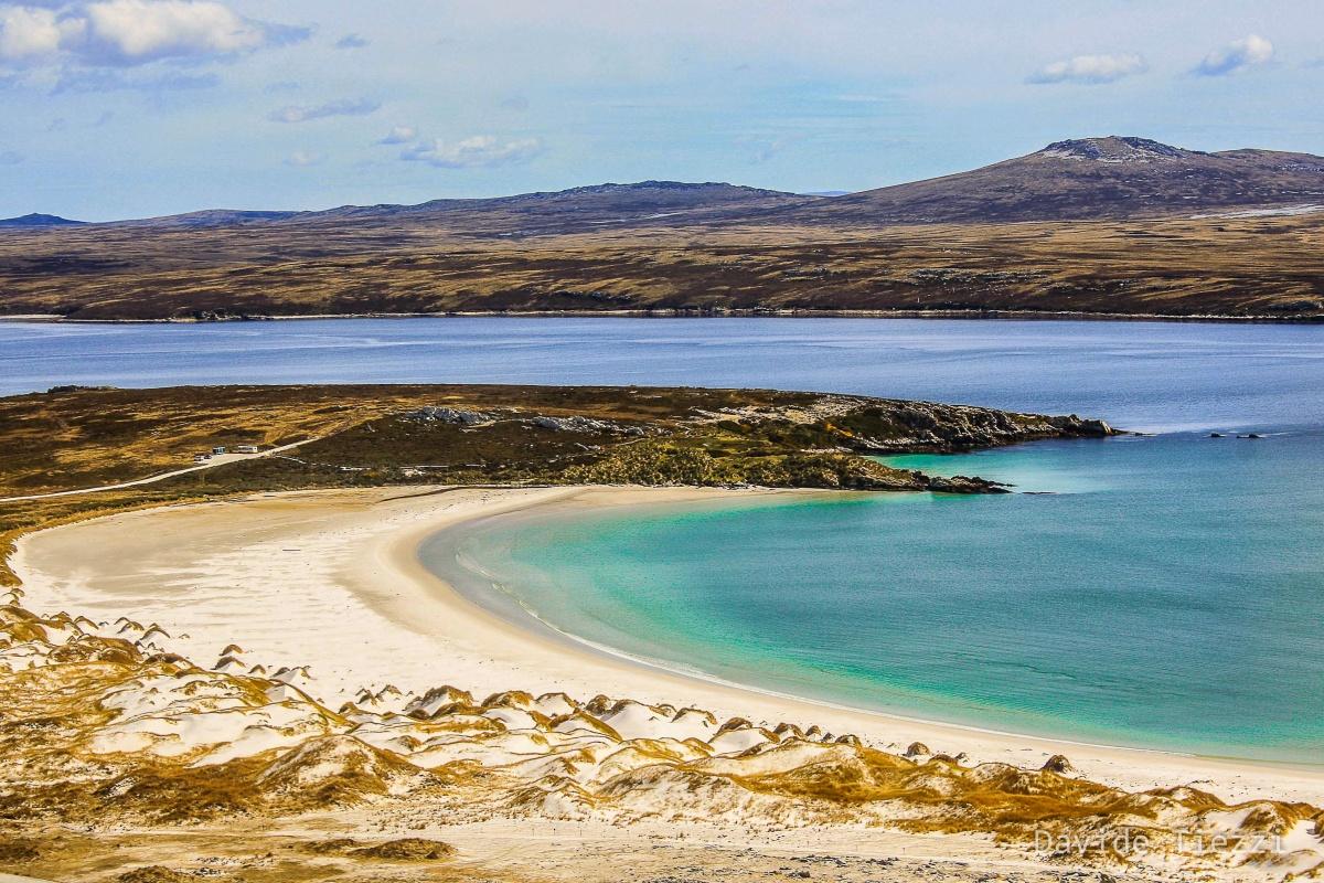Paesaggio isole falkland
