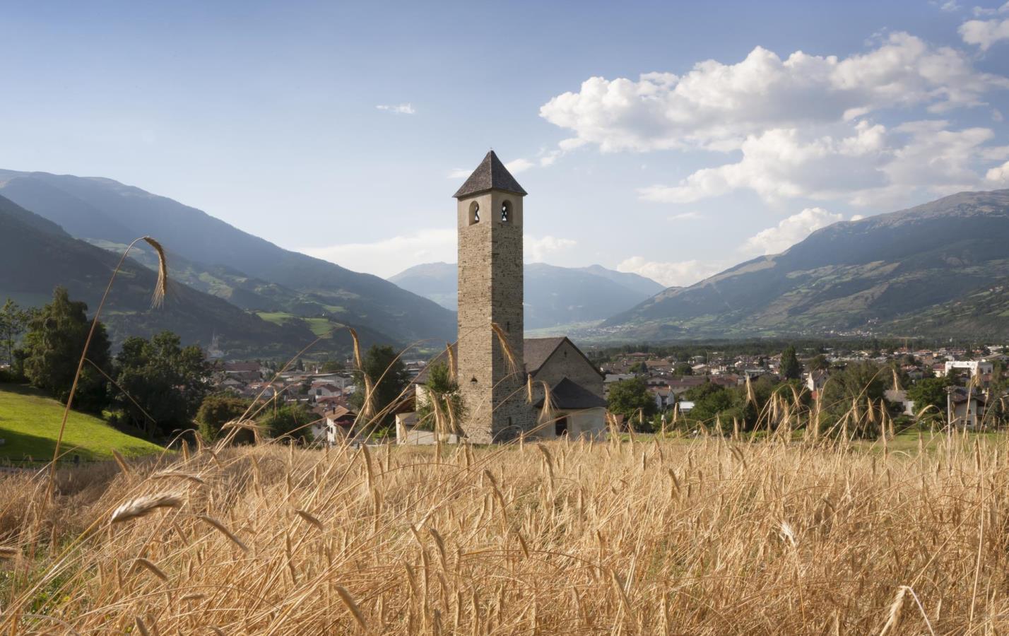 chiesa romanica val venosta