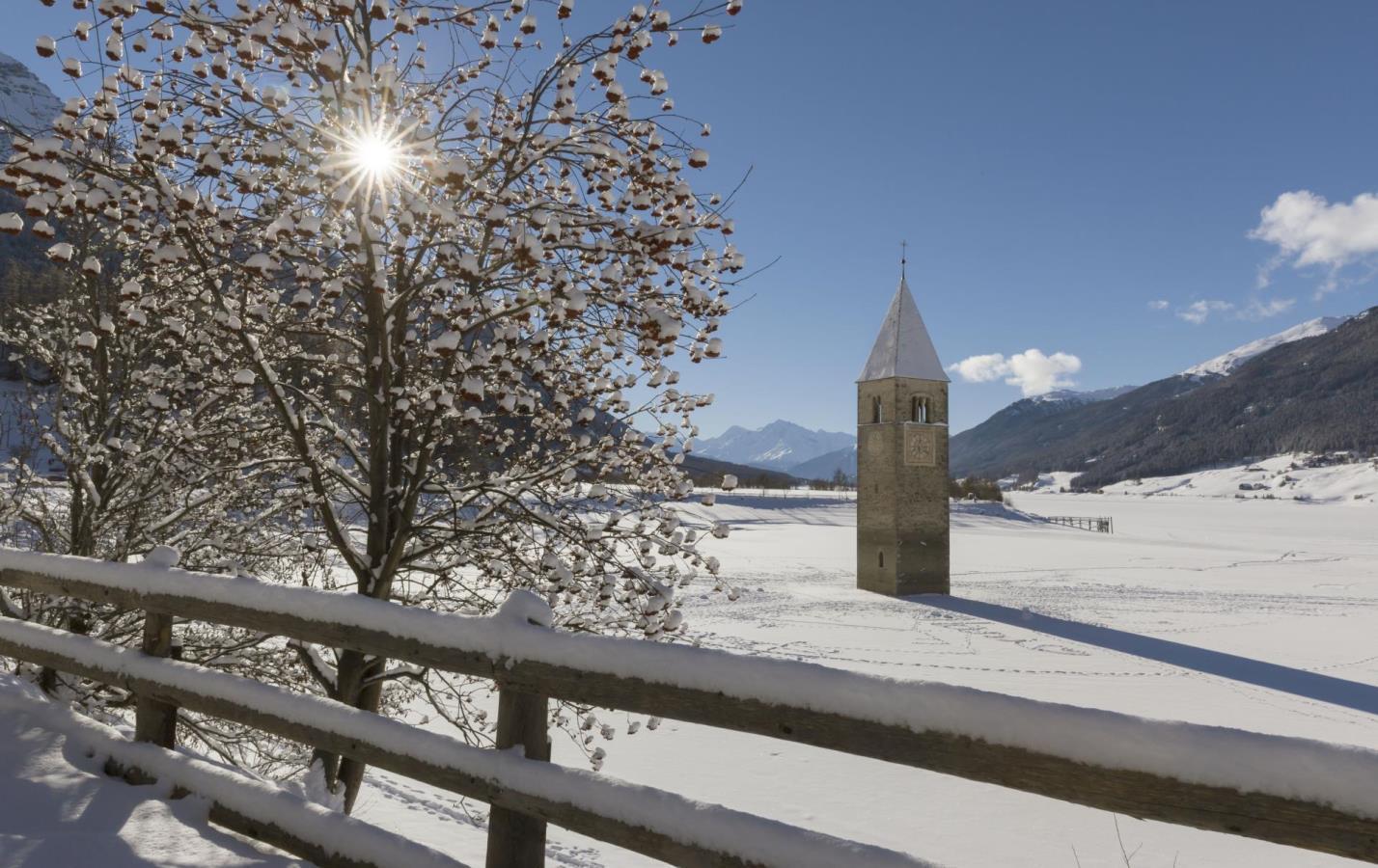 reschensee-turm-winter