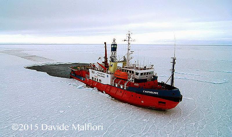 Navi rompighiaccio Antartide