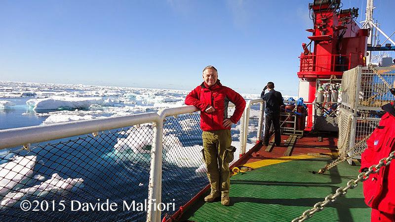 Davide in Antartide