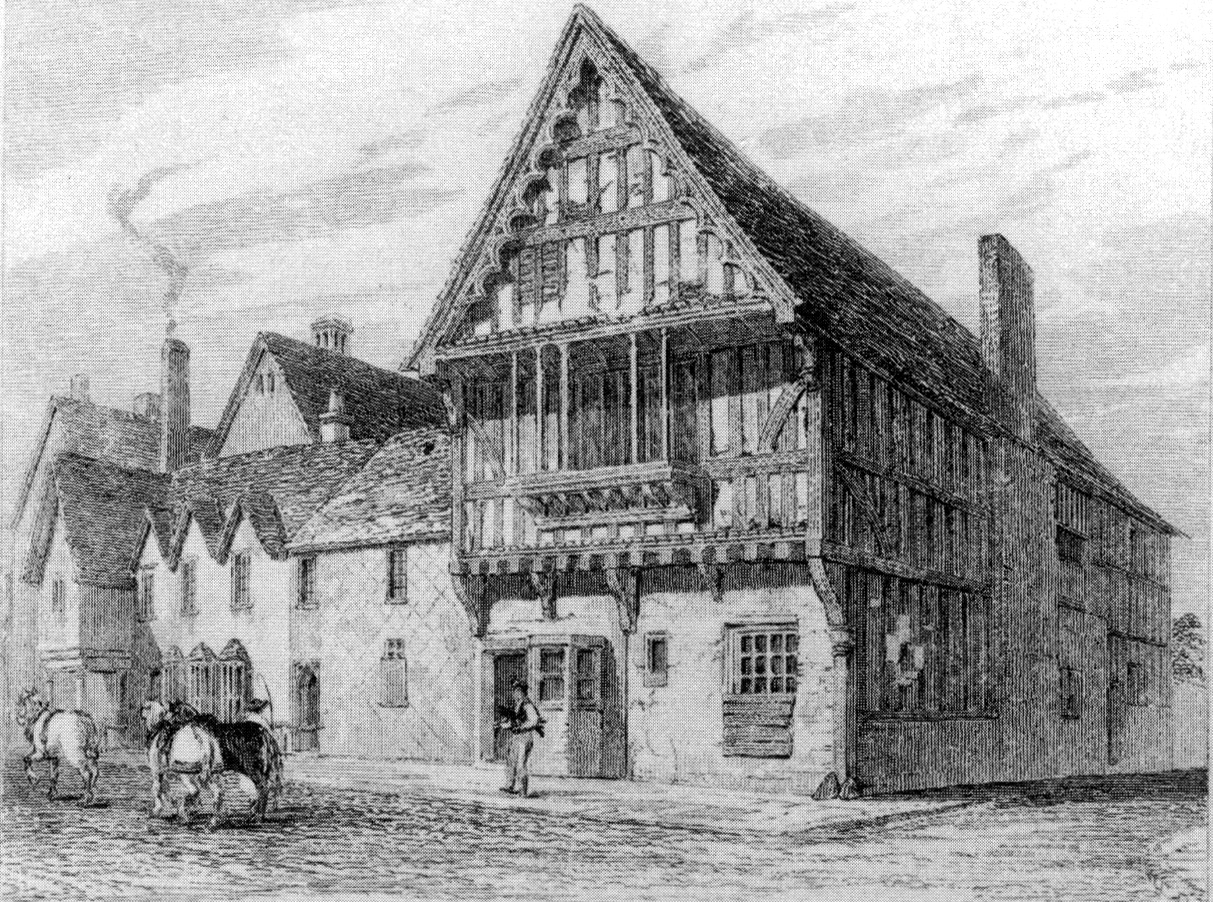 The Blue Boar Inn, Highcross Street, Leicester