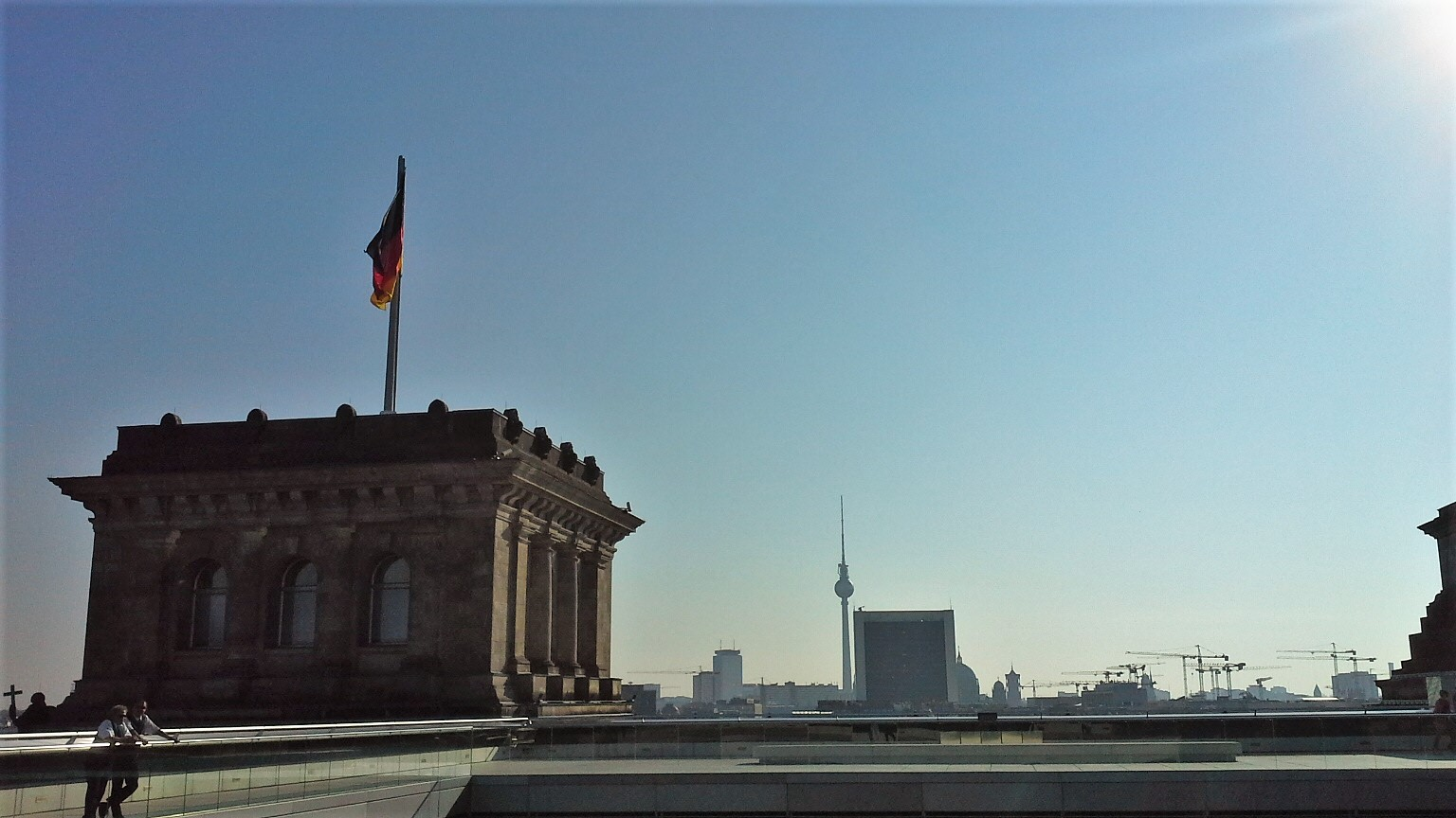 panorama dal Reichstag