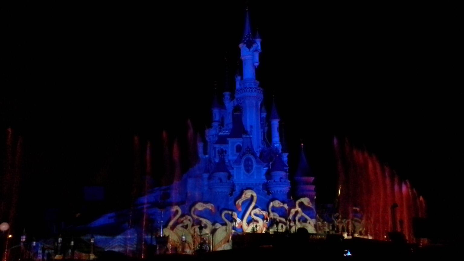 Spettacolo finale Disneyland Paris