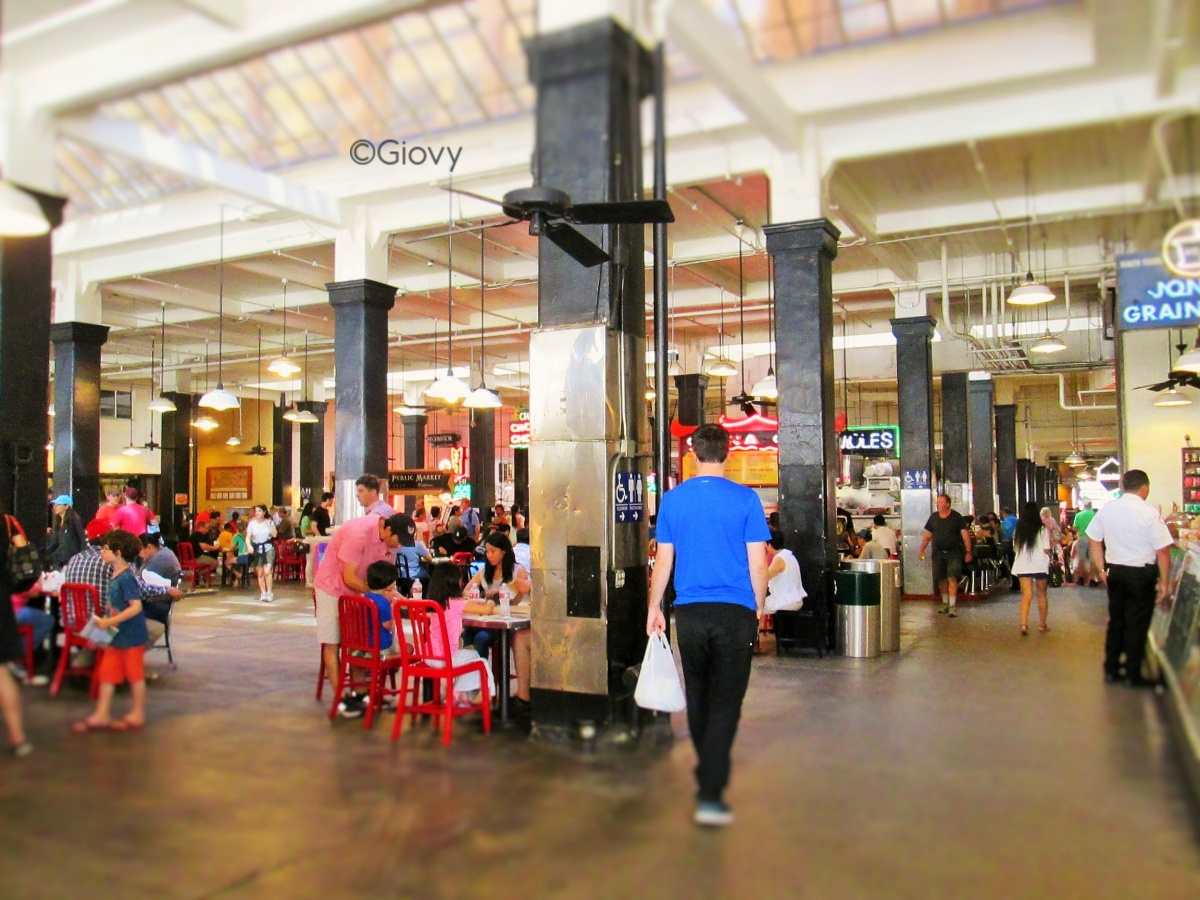Mangiare al Grand Central Market di Los Angeles
