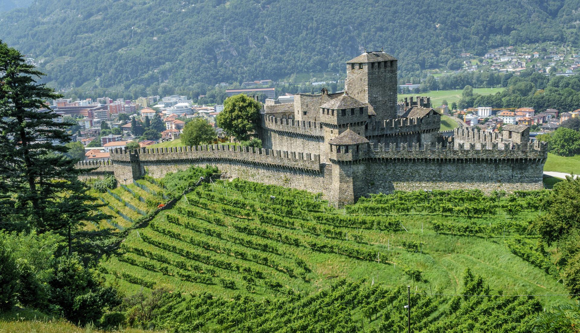 i castelli di bellinzona