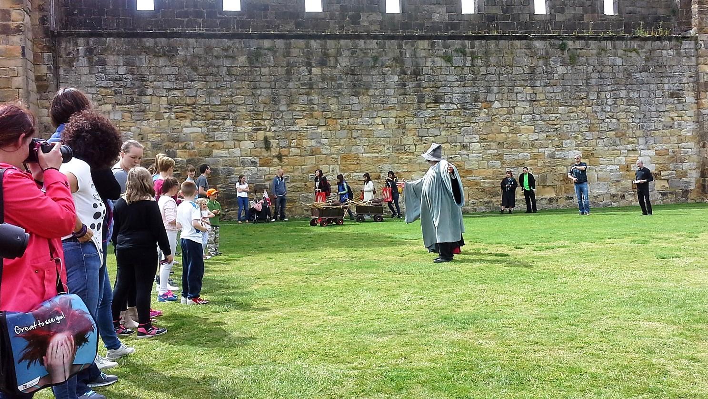 Harry Potter e Anlwick Castle