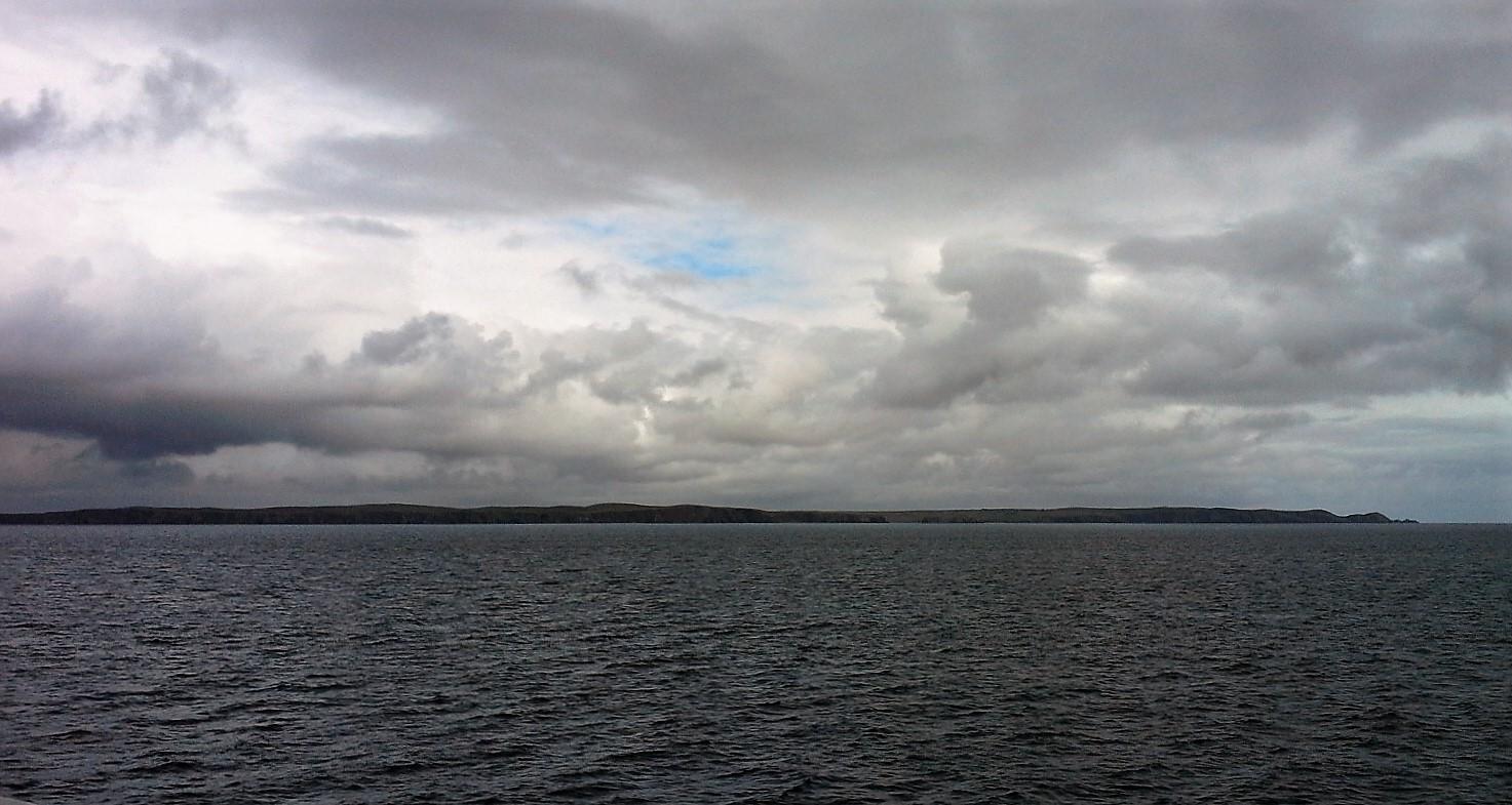 Ebridi esterne dal mare