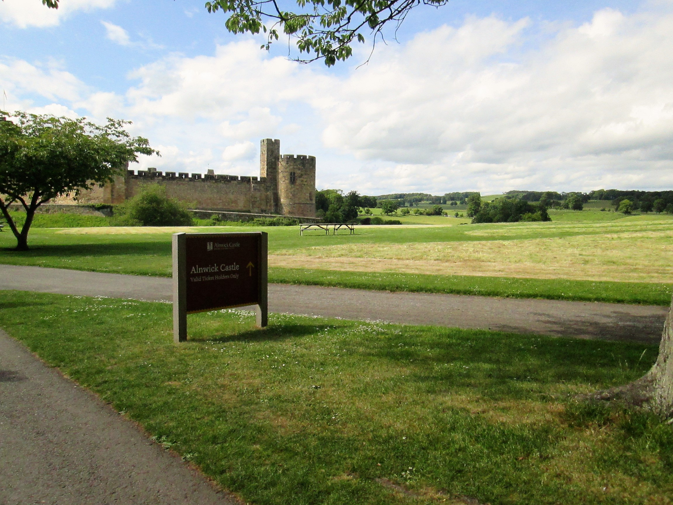 Visitare Alnwick Castle