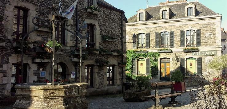Rochefort en terre bretagna