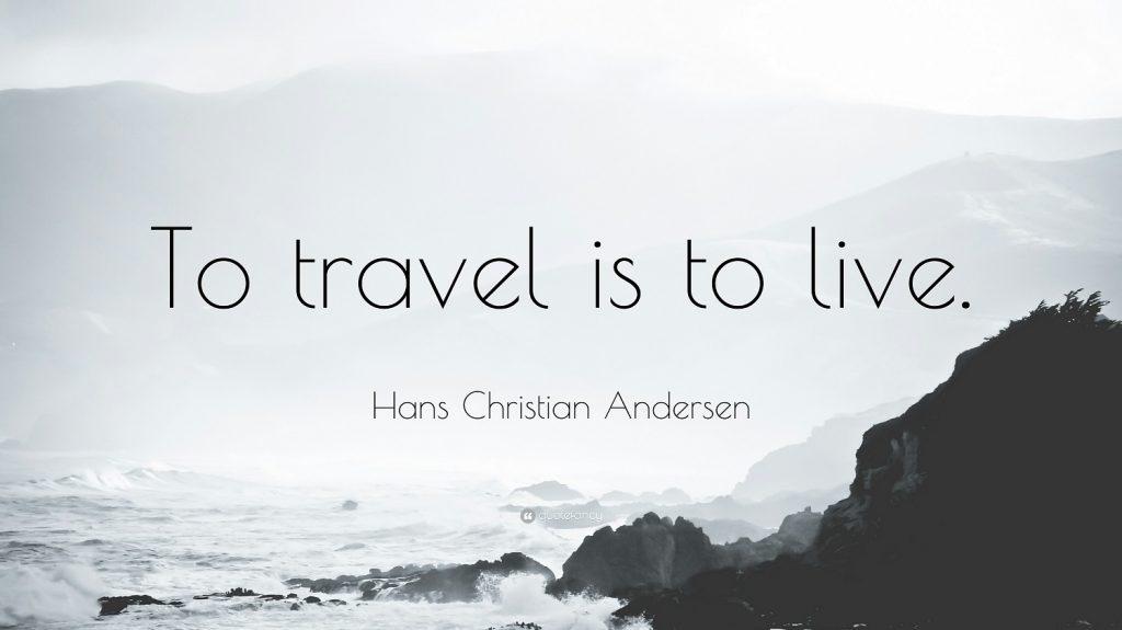 viaggiare è vivere