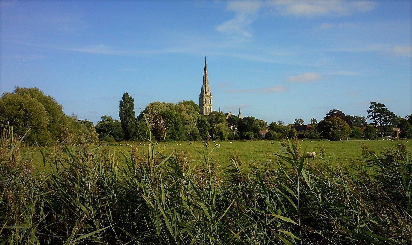 Panorama di Salisbury
