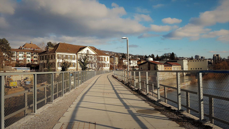 ponte sul fiume Limmat