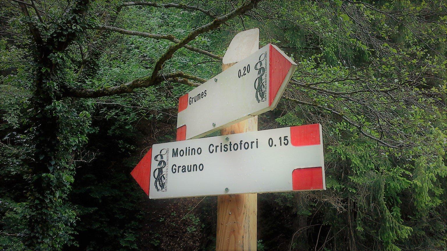 sentiero antichi mestieri Val di Cembra
