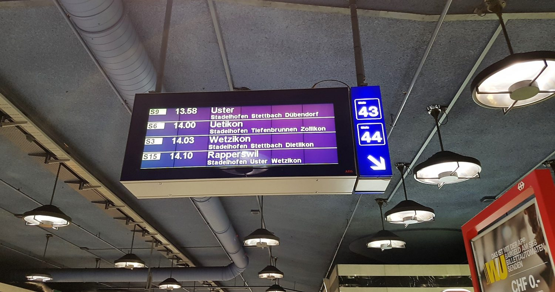 Treno per Rapperswill