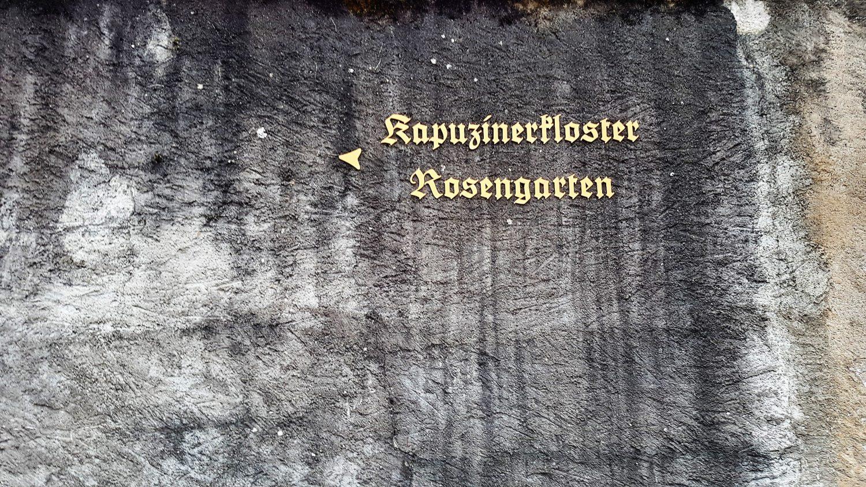 giardino delle rose Rapperswill