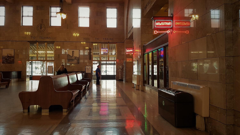 Sala d'aspetto stazione Portland