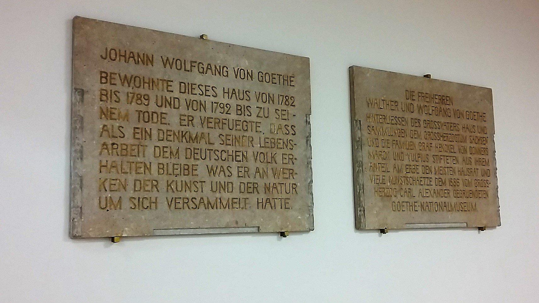 Weimar la Kulturstadt