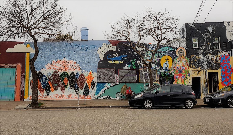 Street Art Oakland