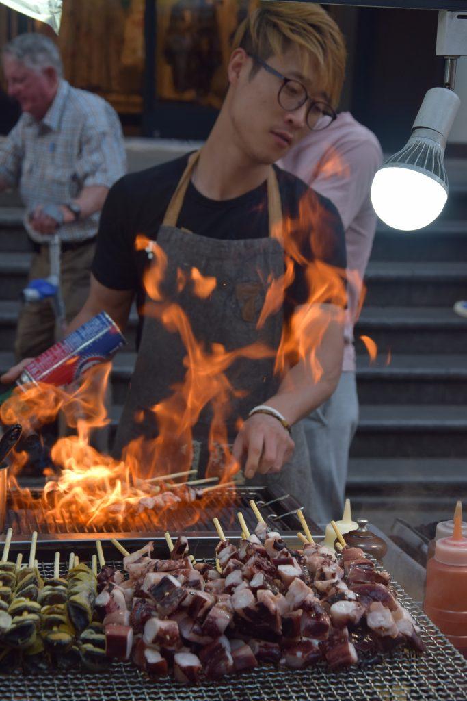 Street food in Corea