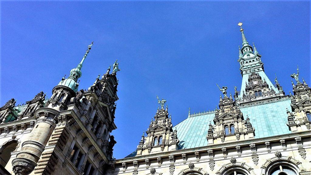 Il municipio di Amburgo