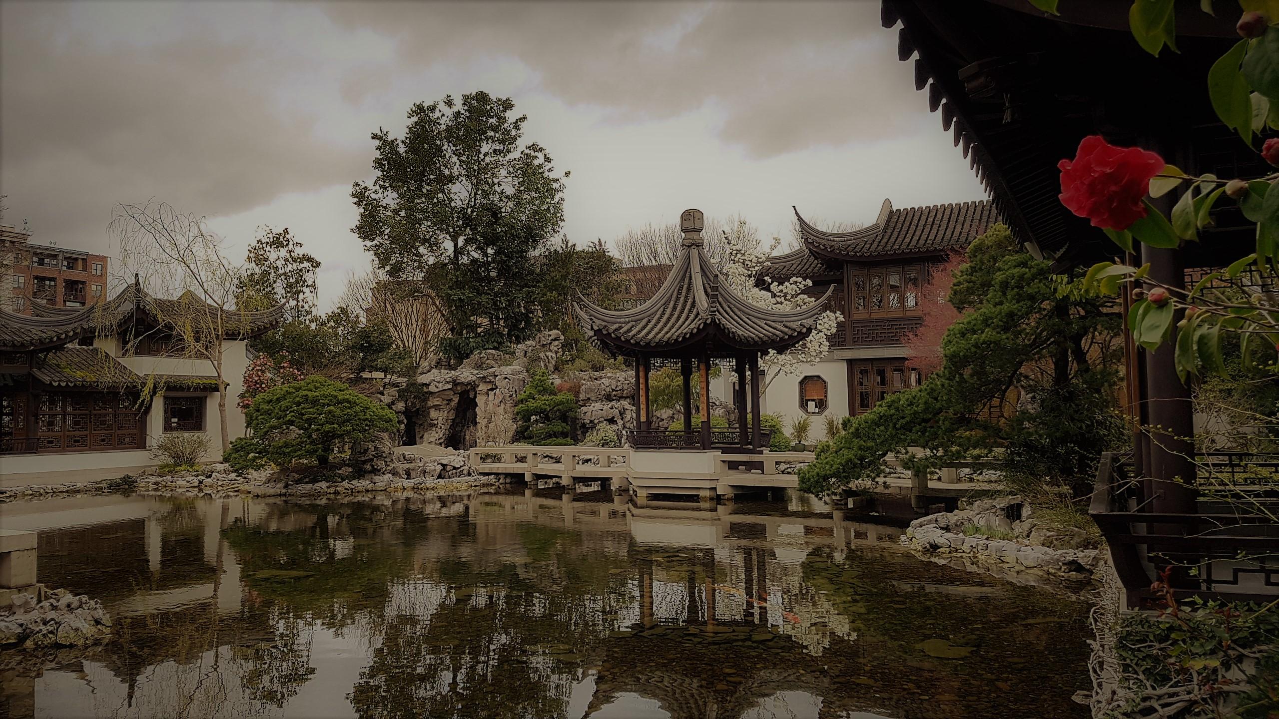 Lan Sun Chinese Garden Portland