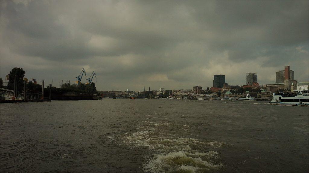 landungsbrucken di Amburgo