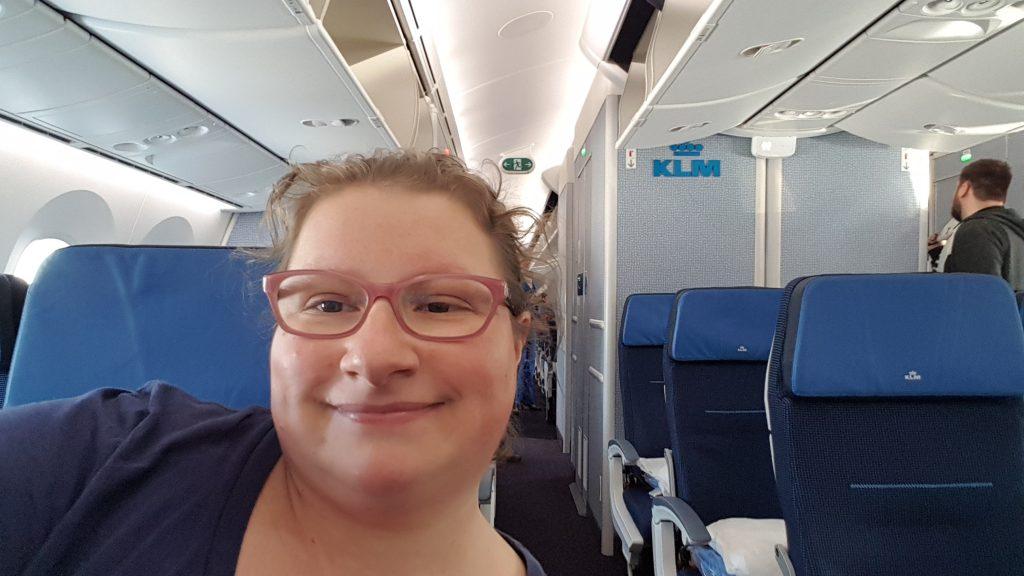 In volo con KLM