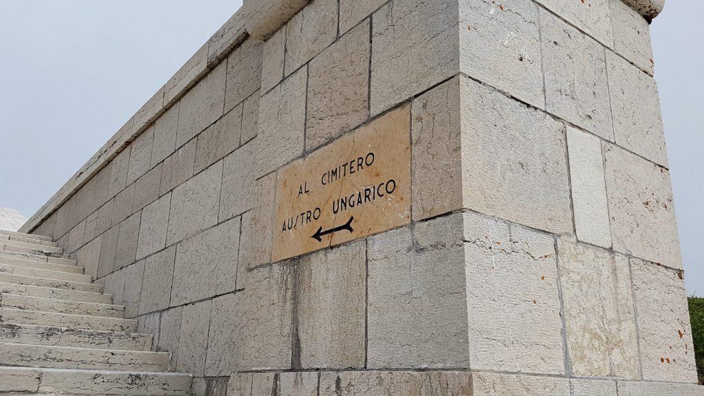 cimitero austro-ungarico sacrario monte grappa