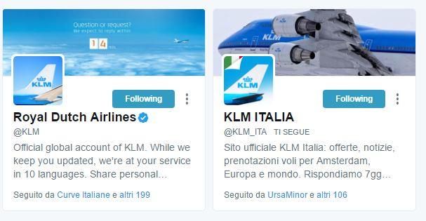 social KLM