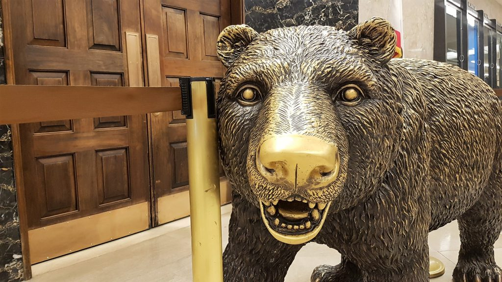 State Capitol Bear