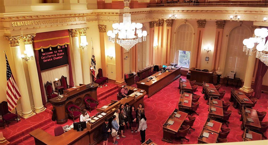 Il Senato della California