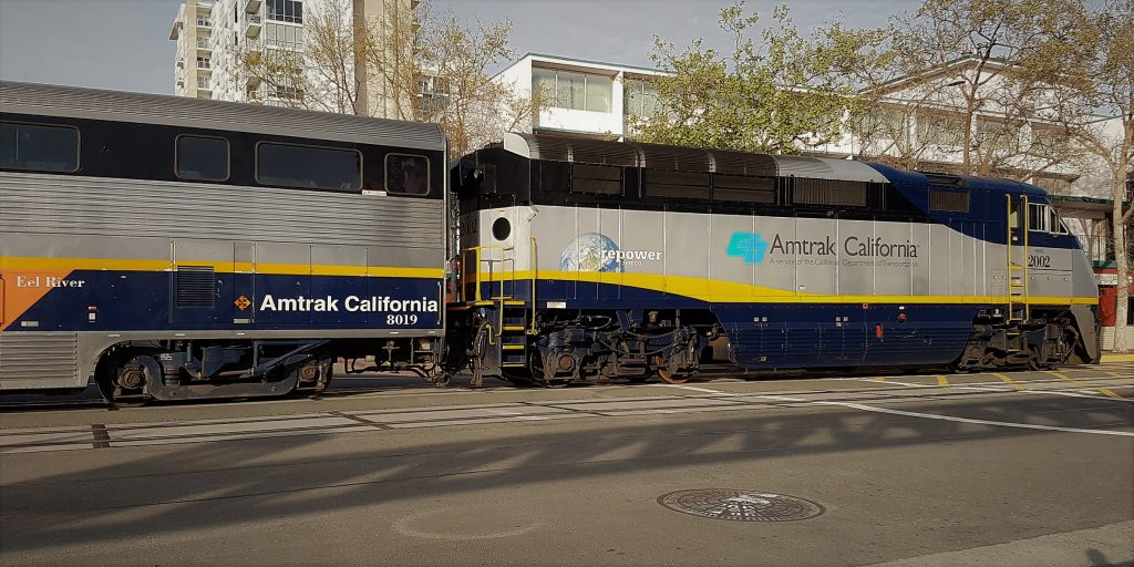 Treno Amtrak California