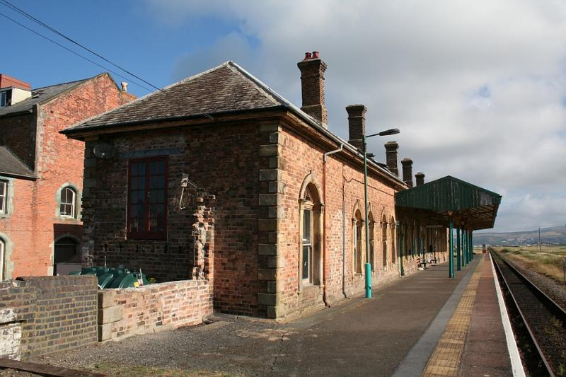 la stazione di borth, galles